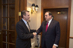 Dr. Thomas White and Mike Huckabee