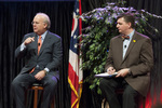 Karl Rove and Dr. Mark Caleb Smith by Cedarville University