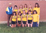 1989 Women's Cross Country Team by Cedarville College