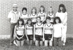 1989 Women's Cross Country Team