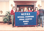 1991 NCCAA Banner by Cedarville College