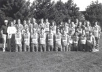 1993 Cross Country Team by Cedarville College