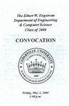The Department of Engineering and Computer Science Class of 2008 Convocation