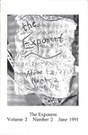 The Exponent, June 1991 by Cedarville University