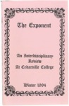 The Exponent, Winter 1994 by Cedarville College