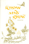 Know and Grow, Volume 2 by Cheryl Fawcett