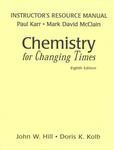Instructor's Resource Manual: Chemistry for Changing Times