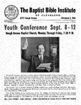 Faith and Fruit, September 1947 by Baptist Bible Institute of Cleveland