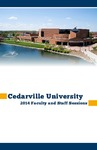 2014 Faculty and Staff Sessions by Cedarville University