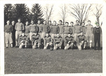 1931-1932 Football Team by Cedarville College