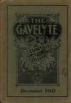 The Gavelyte, December 1910 by Cedarville College