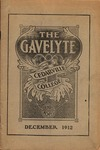 The Gavelyte, December 1912 by Cedarville College