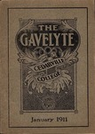 The Gavelyte, January 1911 by Cedarville College