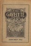 The Gavelyte, January 1913 by Cedarville College