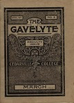 The Gavelyte, March 1911 by Cedarville College