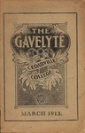 The Gavelyte, March 1913