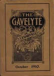 The Gavelyte, October 1910 by Cedarville College