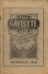 The Gavelyte, October 1912 by Cedarville College