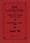 The Gavelyte, September 1910 by Cedarville College