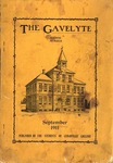 The Gavelyte, September 1911 by Cedarville College
