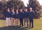 1997 Golf Team by Cedarville College