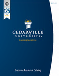 2011-2012 Graduate Academic Catalog by Cedarville University