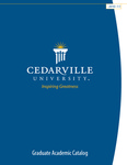 2010-2011 Graduate Academic Catalog by Cedarville University