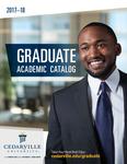 2017-2018 Graduate Academic Catalog