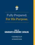 2020-2021 Graduate Academic Catalog