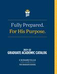 2021-2022 Graduate Academic Catalog