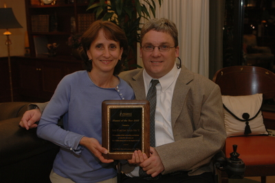 Alumni Award--Alumni of the Year: Curtis '83 and Carole Stoltzfus '82 Hoke