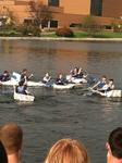 Cardboard Canoe Race Demolition Derby