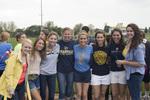 Students at Homecoming