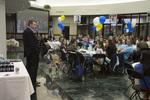 Thomas White Speaking at Alumni Dinner