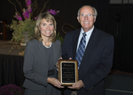 Distinguished Service Award - David Warren with Dr. Janice Supplee