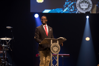 Homecoming Week Chapel - Walter Strickland
