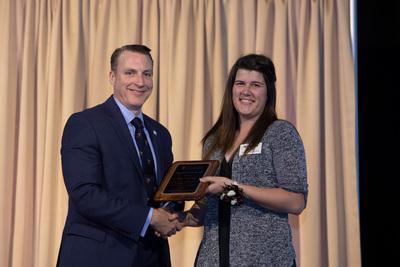 Kristen Craig Zeigler '14: Young Alumna of the Year