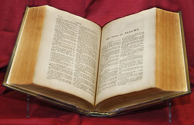 King James Bible, Thompson Hot-Press Edition, 1798