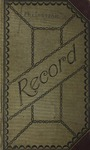 Philosophic Literary Society Records by Cedarville College