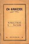 The Gavelyte, May-June 1914