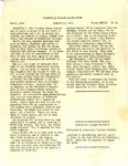 Cedarville College Bulletin, March 1946 by Cedarville College