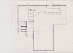 College Library Floor Plan Drawing by Cedarville University