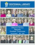 Centennial Library 2017-2018 Annual Report by Cedarville University