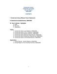 Centennial Library 2008-2009 Annual Report