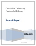 Centennial Library 2012-2013 Annual Report
