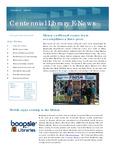 Centennial Library E-News, November/December 2010