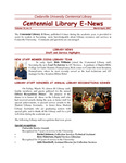 Centennial Library E-News, March/April 2007