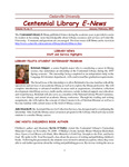 Centennial Library E-News, January/February 2007