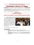 Centennial Library E-News, March/April 2006