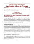 Centennial Library E-News, March/April 2005